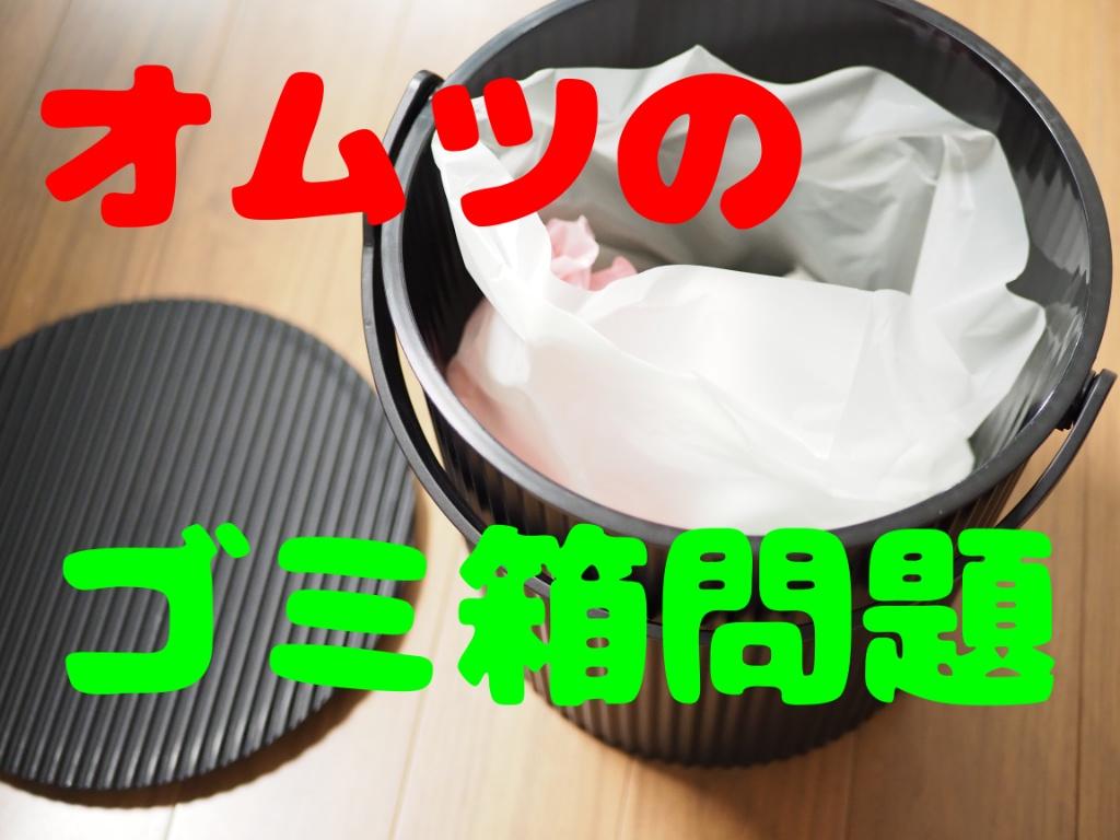 オムツのゴミ箱は代用で!臭い対策はボスの袋で完璧。